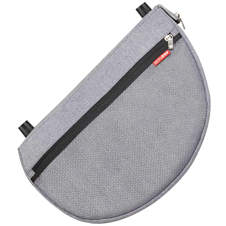 Skip Hop Grab-and-Go Stroller Saddlebag, Heather Grey 400602