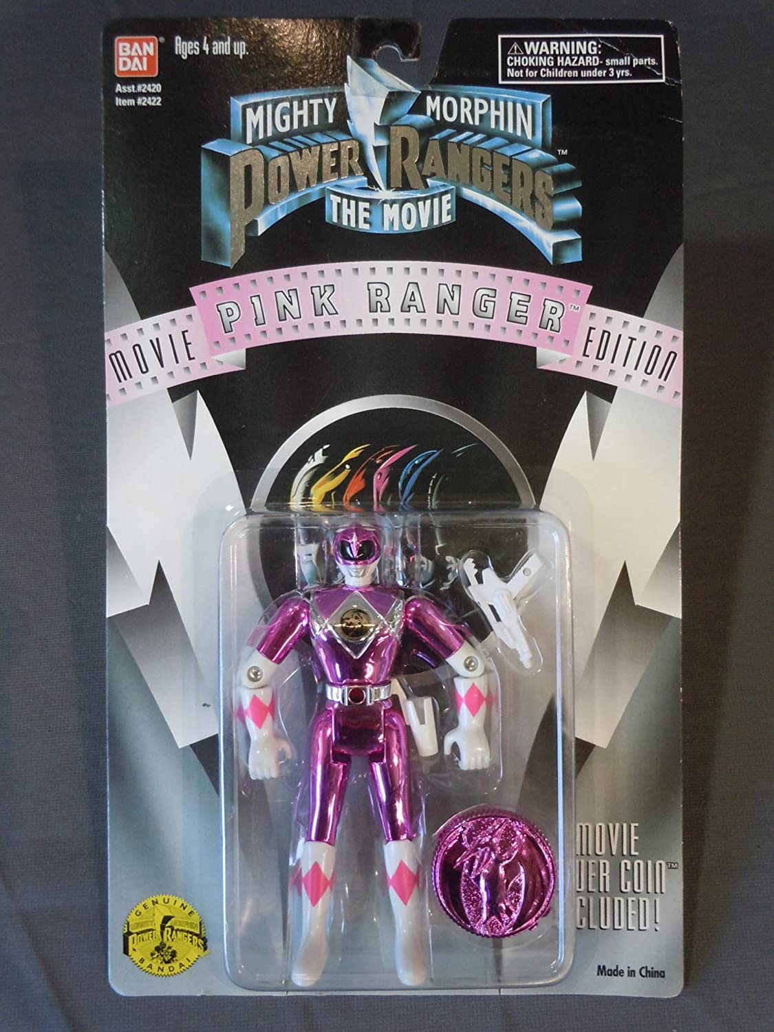 Power Rangers the Movie Pink Ranger by Power Rangers