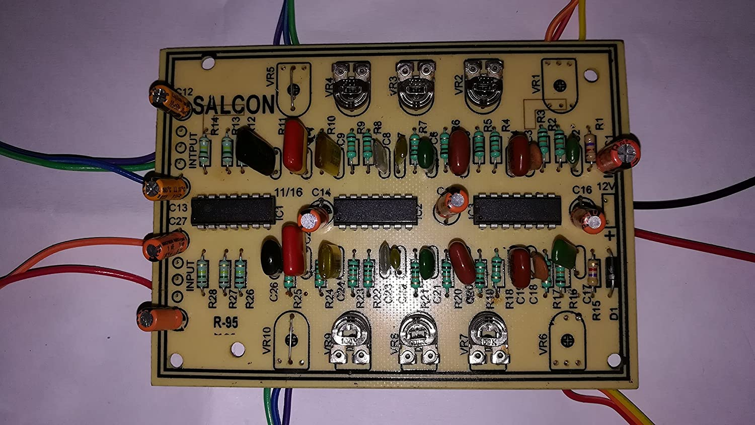 Salcon Electronics Passive Tone Bass Treble Control And Without Any Ic Transistor