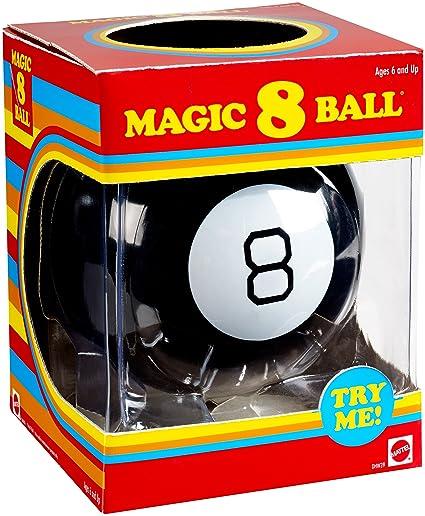 Amazon.com  Mattel Games Magic 8 Ball Retro Edition  Toys   Games 2e65d0bf54