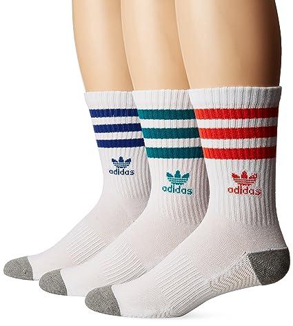 Amazon.com  adidas Men s Originals Crew Socks (3-Pack)  Sports ... bb4f31c9aae