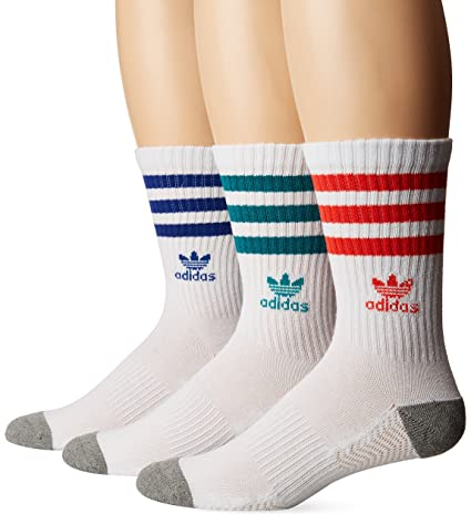 a5e61e0c113d48 Amazon.com  adidas Men s Originals Crew Socks (3-Pack)  Sports ...
