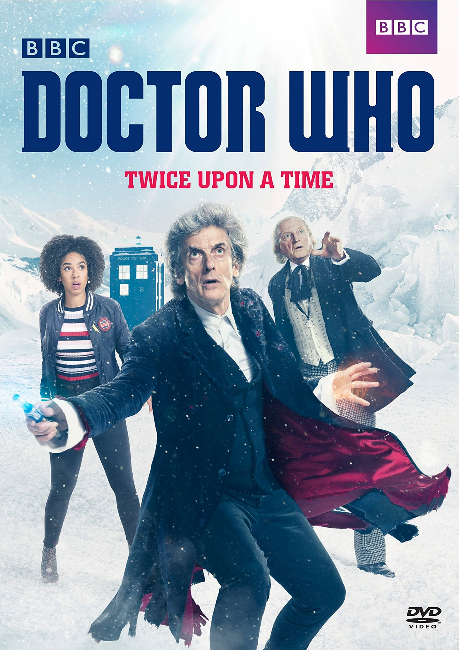 DVD : Doctor Who: Twice Upon a Time (DVD)