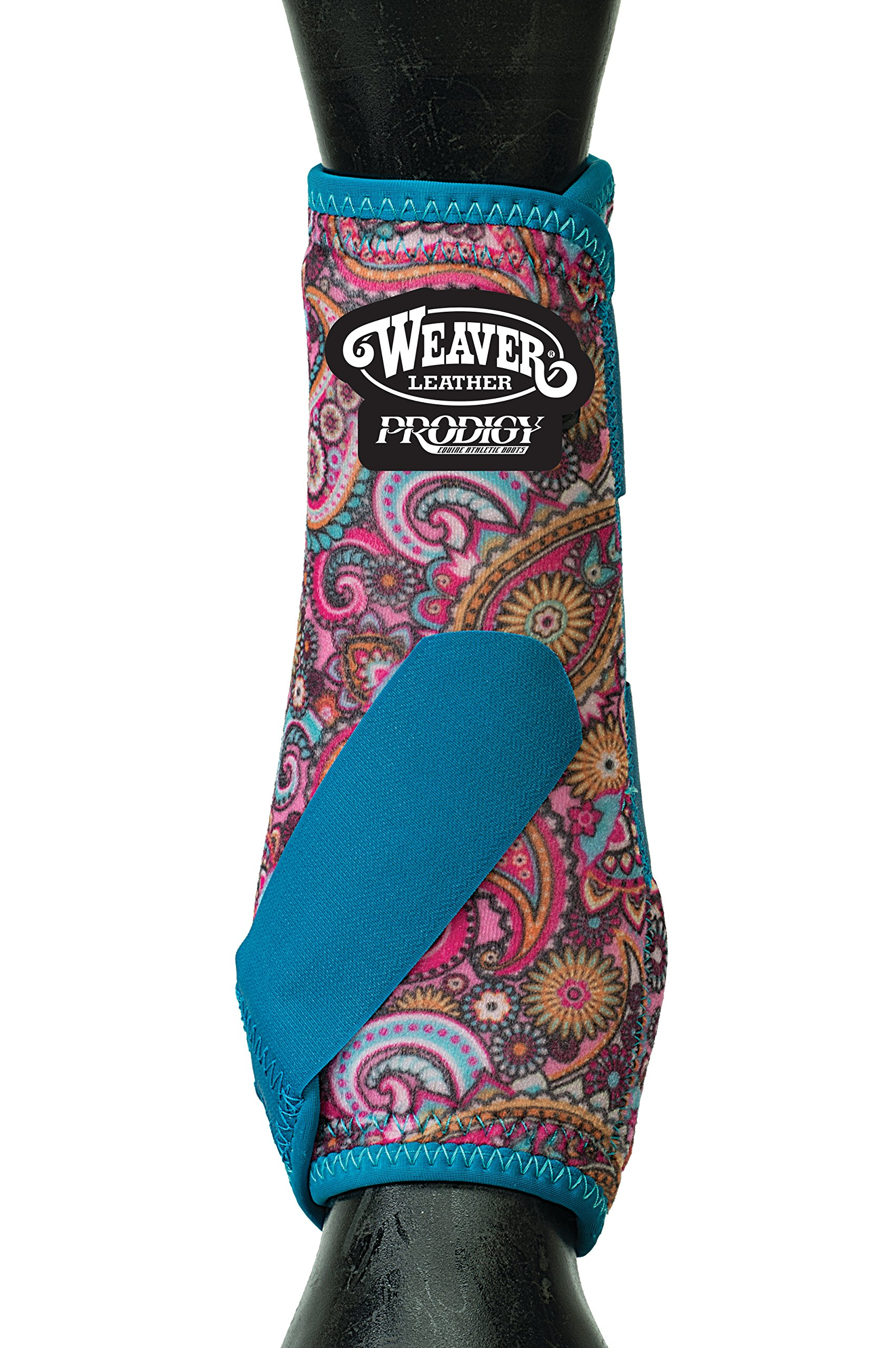 Weaver Leather Prodigy Athletic Boots, Four-Pack, Medium, Paisley