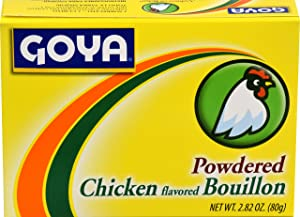 Goya Foods Powdered Chicken Flavored Bouillion, 2.82 Ounce (Pack of 24)
