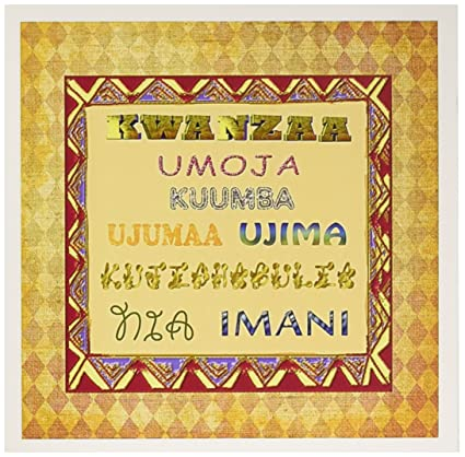 Amazon meaning of kwanzaa swahili greeting cards 6 x 6 meaning of kwanzaa swahili greeting cards 6 x 6 inches set of m4hsunfo