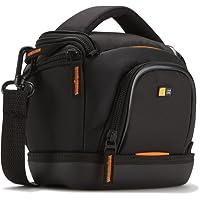 Case Logic SLDC203 Housse semi-rigide pour CN/bridge Noir et Orange,(L x P x H): 115 x 85 x 157 mm