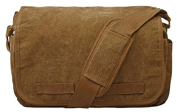 Sweetbriar Classic Messenger Bag - Vintage Canvas Shoulder Bag for  All-Purpose Use 36819940b276