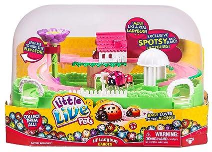 Exceptionnel Little Live Pets Lilu0027 Ladybug Garden   Spotsy U0026 Baby