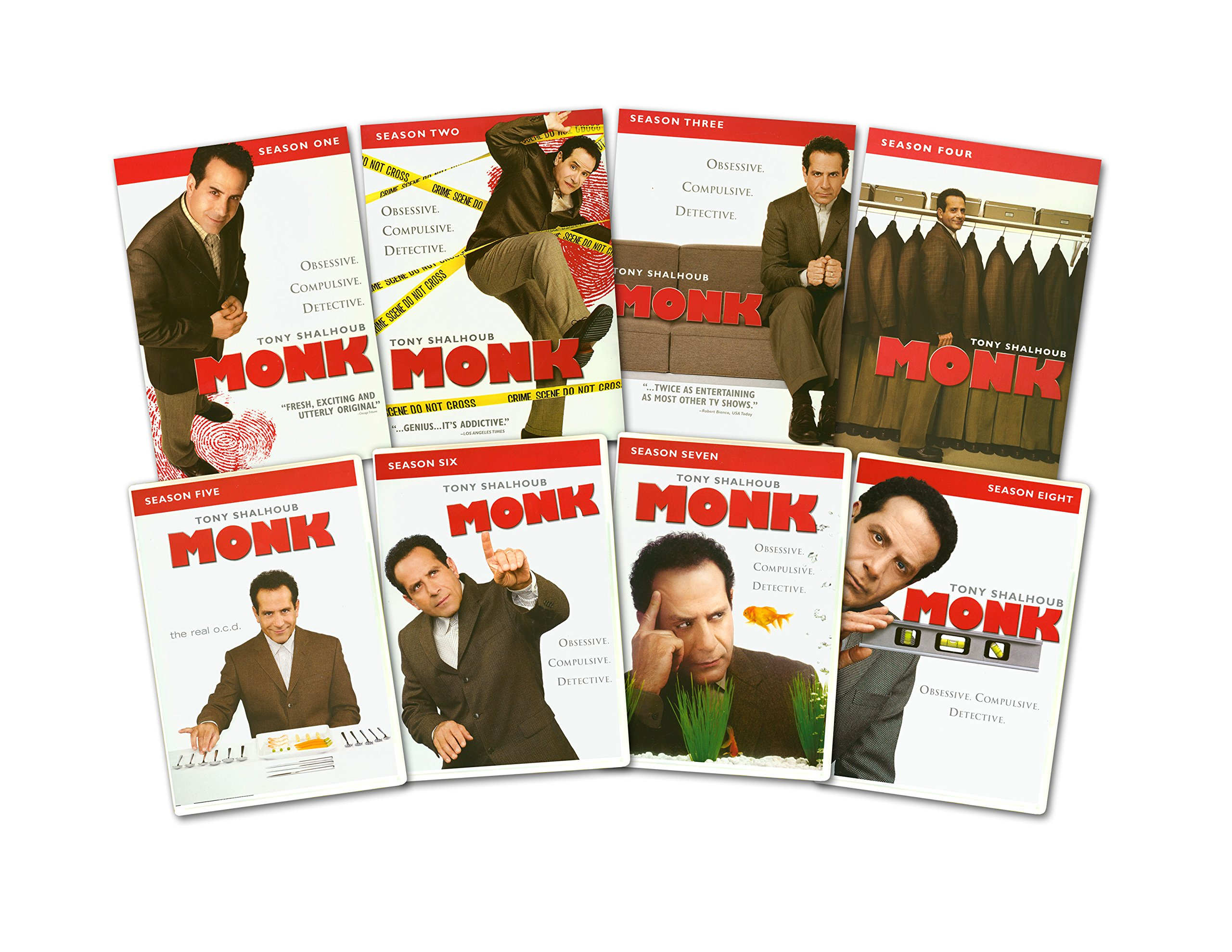 Monk: The Complete Series by Universal Studios Home Entertainment