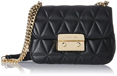 michael michael kors sloan small quilted leather shoulder bag rh amazon com michael kors sloan lg leather chain shoulder bag black michael kors sloan editor leather shoulder bag