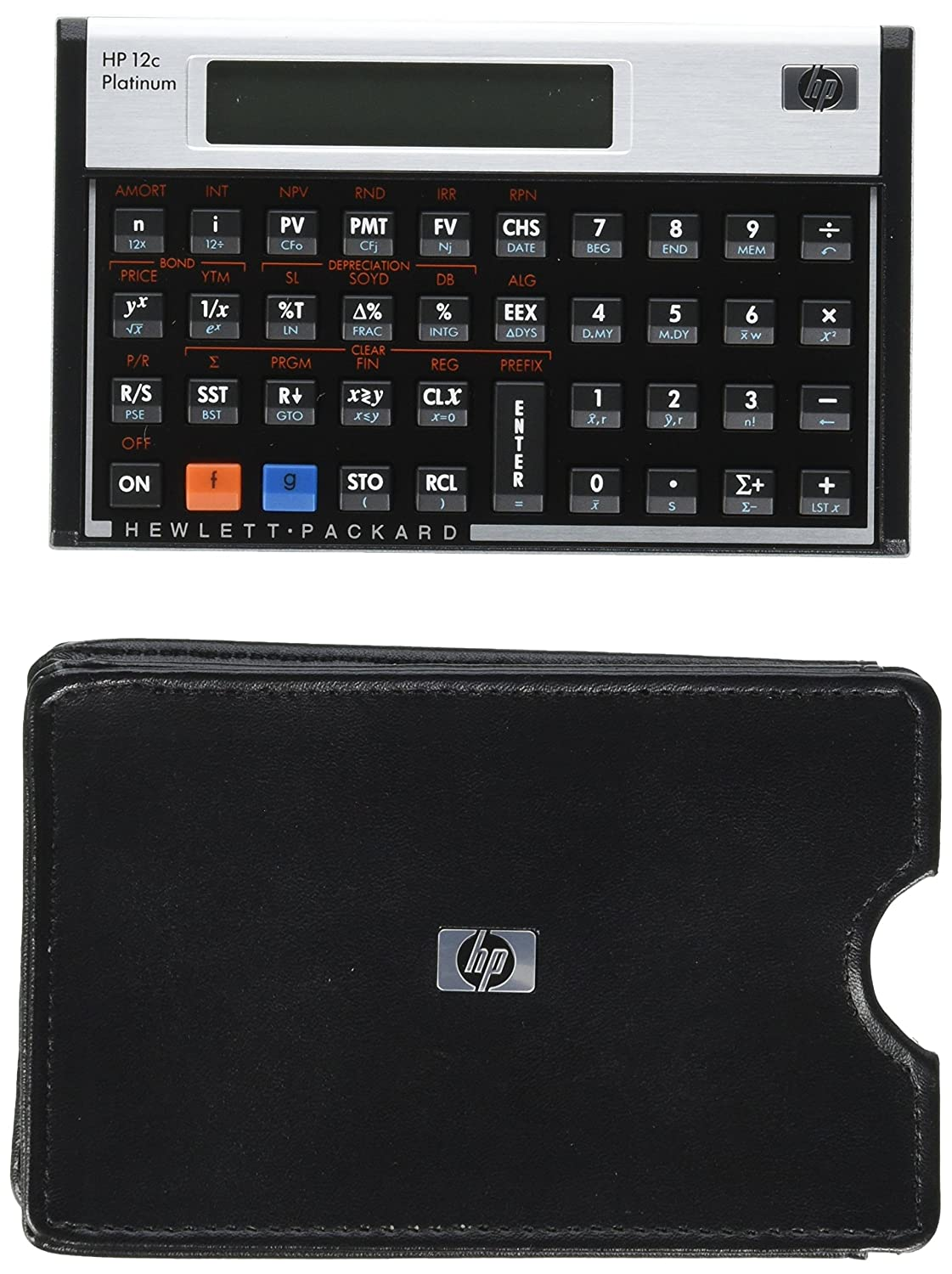 HP 12C Platinum Calculator Hewlett Packard MAIN-86591