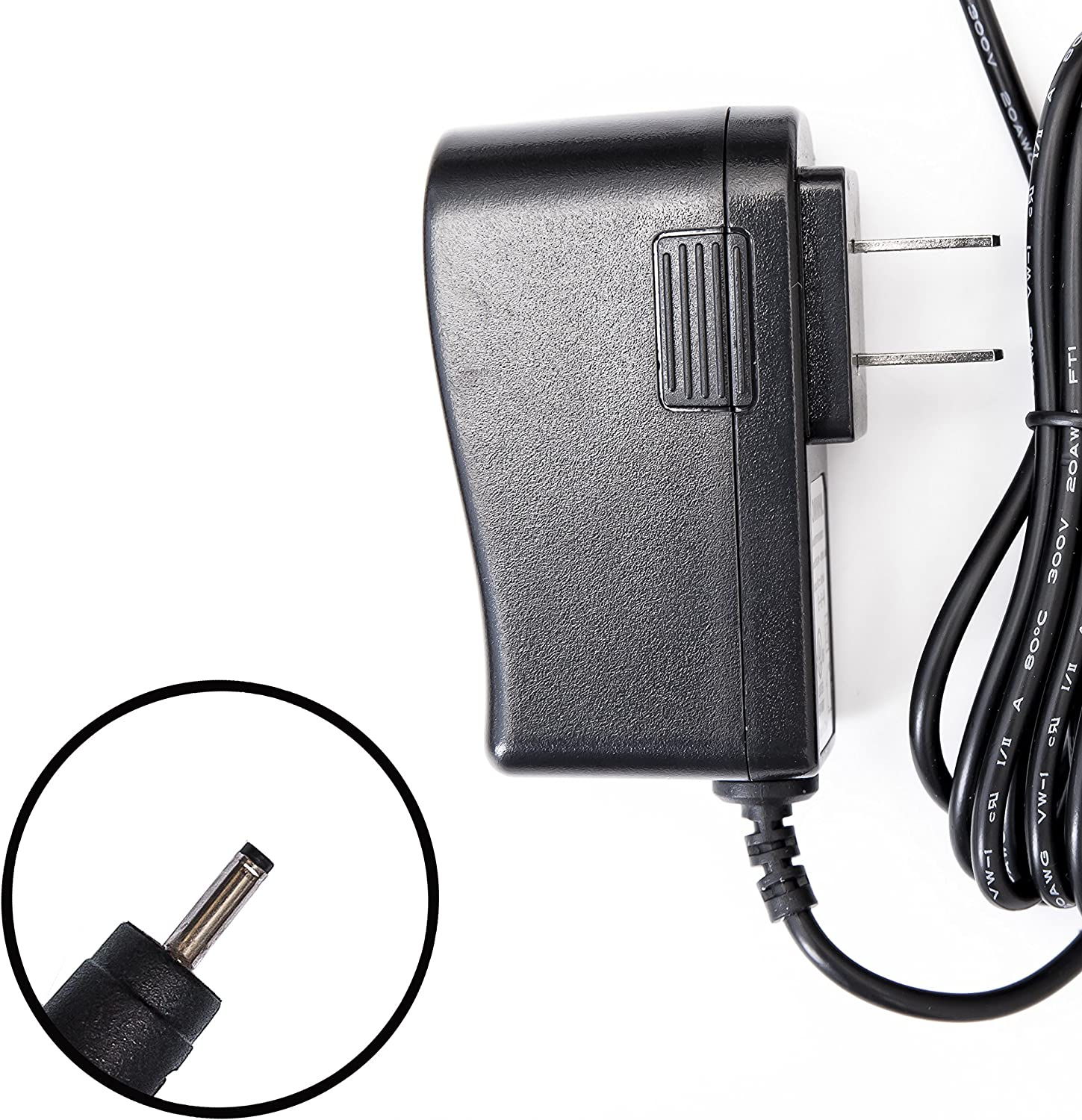 Omnihil AC//DC Power Adapter Compatible with Breo iSee4 Wireless Digital Eye Massager