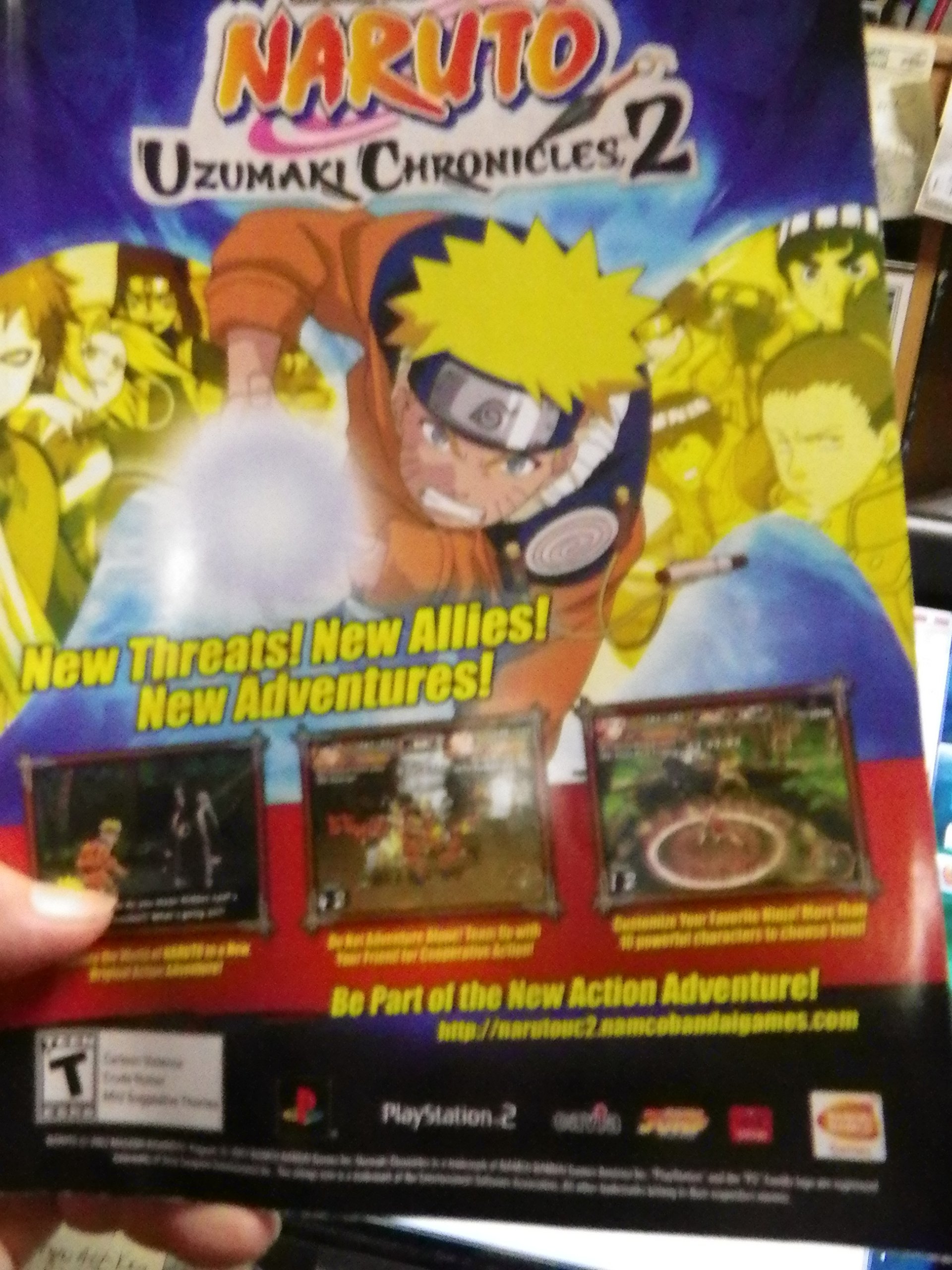 306e1772d41 Shonen Jump Naruto Uzumaki Chronicles 2, November 2007, Volume 5, Issue 11  Single Issue Magazine – 2007