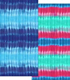 Tie Dye Terry Velour Beach Bath Towel (PINK AND AQUA TIE DYE)