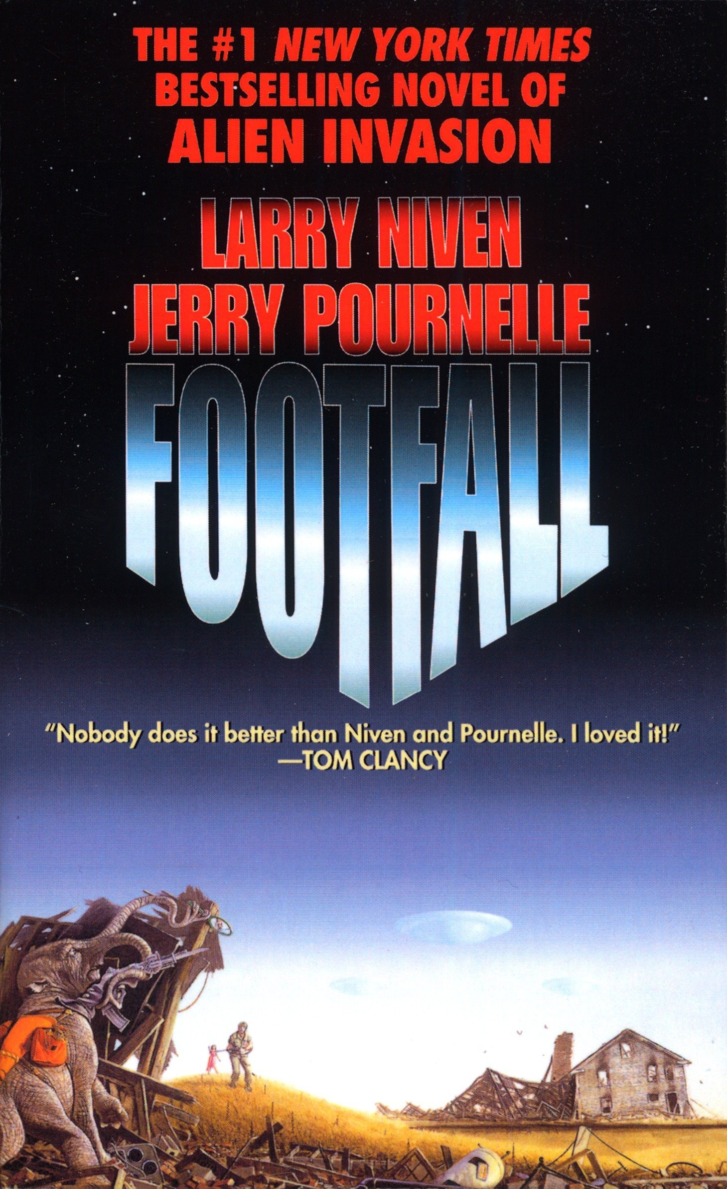 Amazon com: Footfall (9780345323446): Larry Niven, Jerry