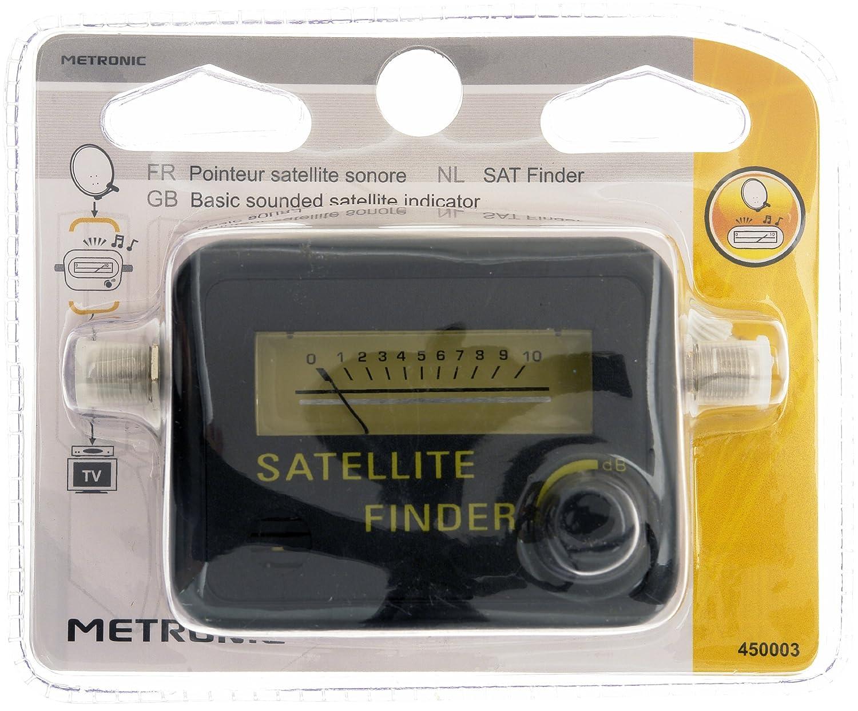 metronic d2424  Metronic D2424 Misuratore Satellitare con Segnale Acus, Nero: Amazon ...