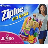 ZIPLOC BIG BAG XXL 3 Bags