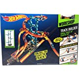 Hot Wheels Track Builder Spiral Stack Up Track Set, Multi Color