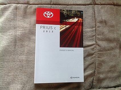 2013 toyota prius manual
