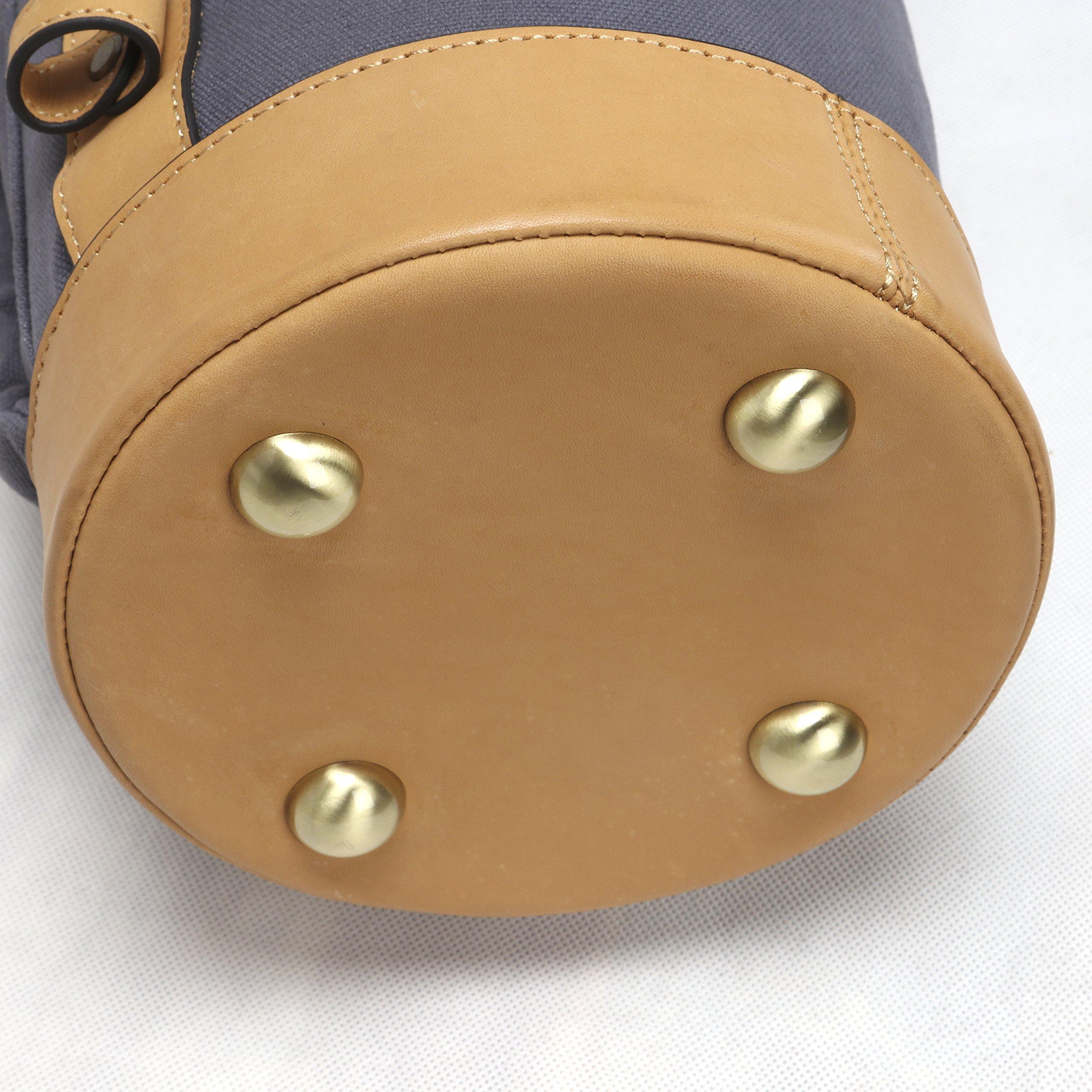 Louisville Golf Canvas Vintage Golf Carry Bag (Blue) by Louisville Golf (Image #4)