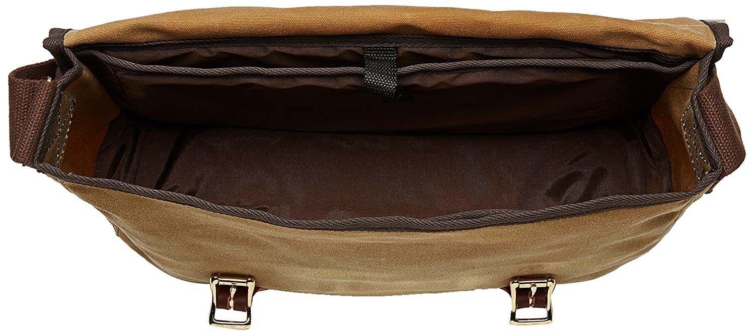 Duluth Pack 15-Inch Laptop Book Bag Olive Drab 11 x 16 x 4-Inch B138