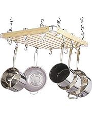 Kitchen Craft Master Class Deluxe - Colgador de techo para ollas (61 x 51 cm