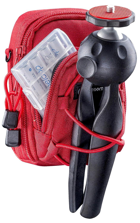 PowerShot SX720 SX730 SX740 G7 X per fotocamera compatta Lumix DC TZ200 TZ95 DMC TZ100 TZ90 TZ80 LX15 Taglia L Borsa Custodia blu Coolpix A A900 A1000 W100 BAXXTAR NUOVO V4