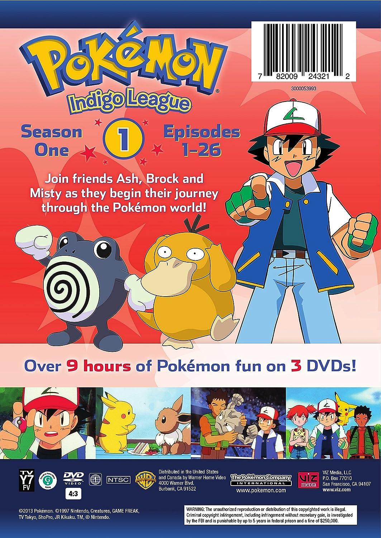 amazon com pokémon indigo league season 1 movies u0026 tv