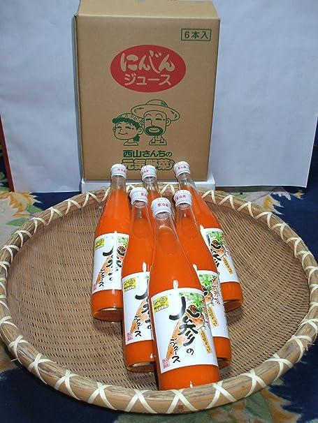 酵素栽培された人参のジュース 720ml×6