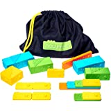 newméro bricks - Stem Toys   Math Learning Toys for Boys and Girls of 3 4 5 6 7 8 9 year old - (57 pieces)