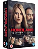 Homeland - Season 1-4 [DVD] [2011]