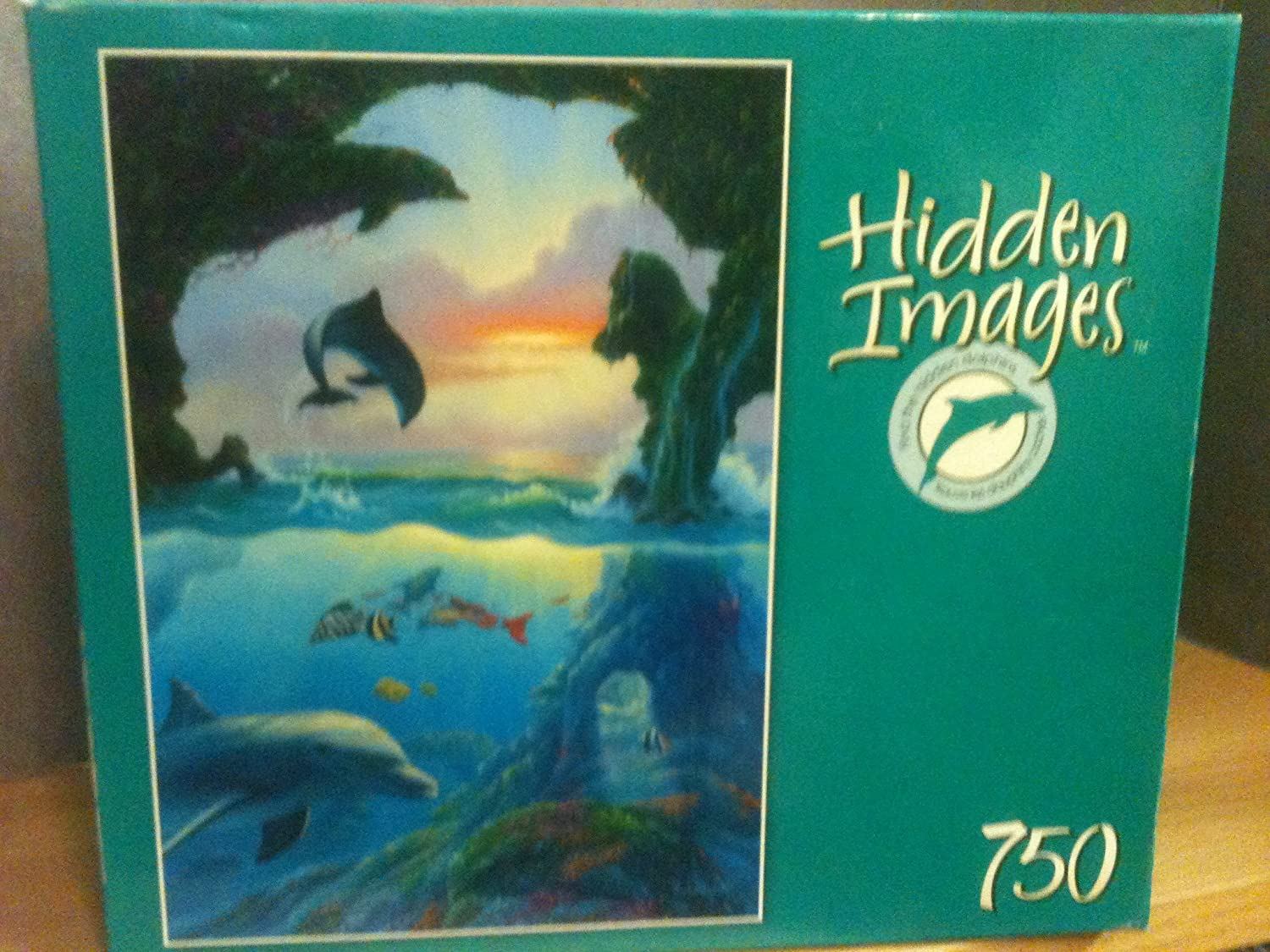 Hidden Images 750 Pieces Puzzle by Mega Brands by Mega Brands