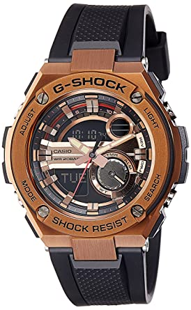 6e8645a0d22 Image Unavailable. Image not available for. Colour  Casio G-Shock Analog- Digital Brown Dial Men s Watch ...