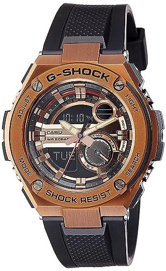 Casio De los hombres Watch G-SHOCK G-STEEL Reloj GST-210B-4A: Casio: Amazon.es: Relojes