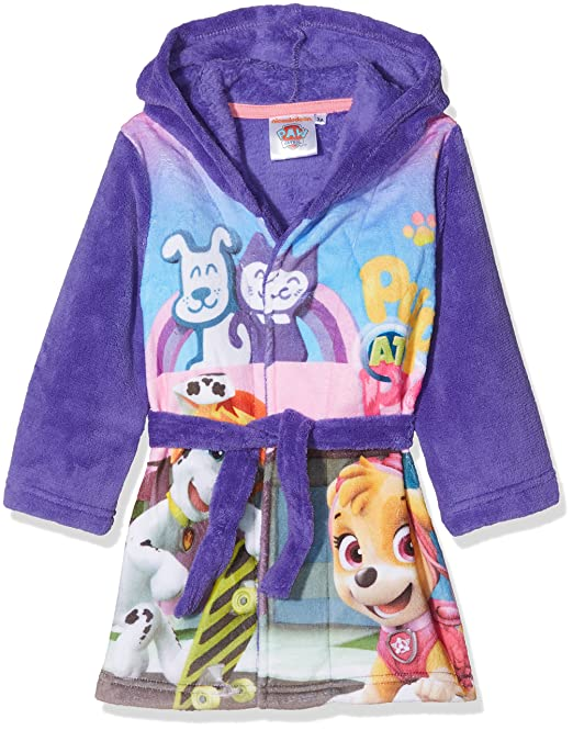 Nickelodeon Paw Patrol Pups At Play, Bata para Niñas, Morado (Purple 18-3839TC) 2-3 Años: Amazon.es: Ropa y accesorios