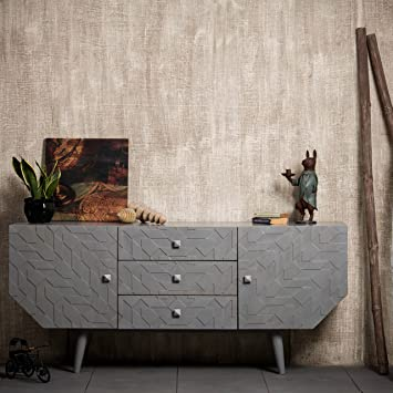Native Home Cave Sideboard Modern Dresser With Doors Drawers