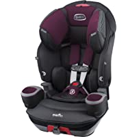 Evenflo SafeMax 3-in-1 Combination Booster Seat, Purple Berry
