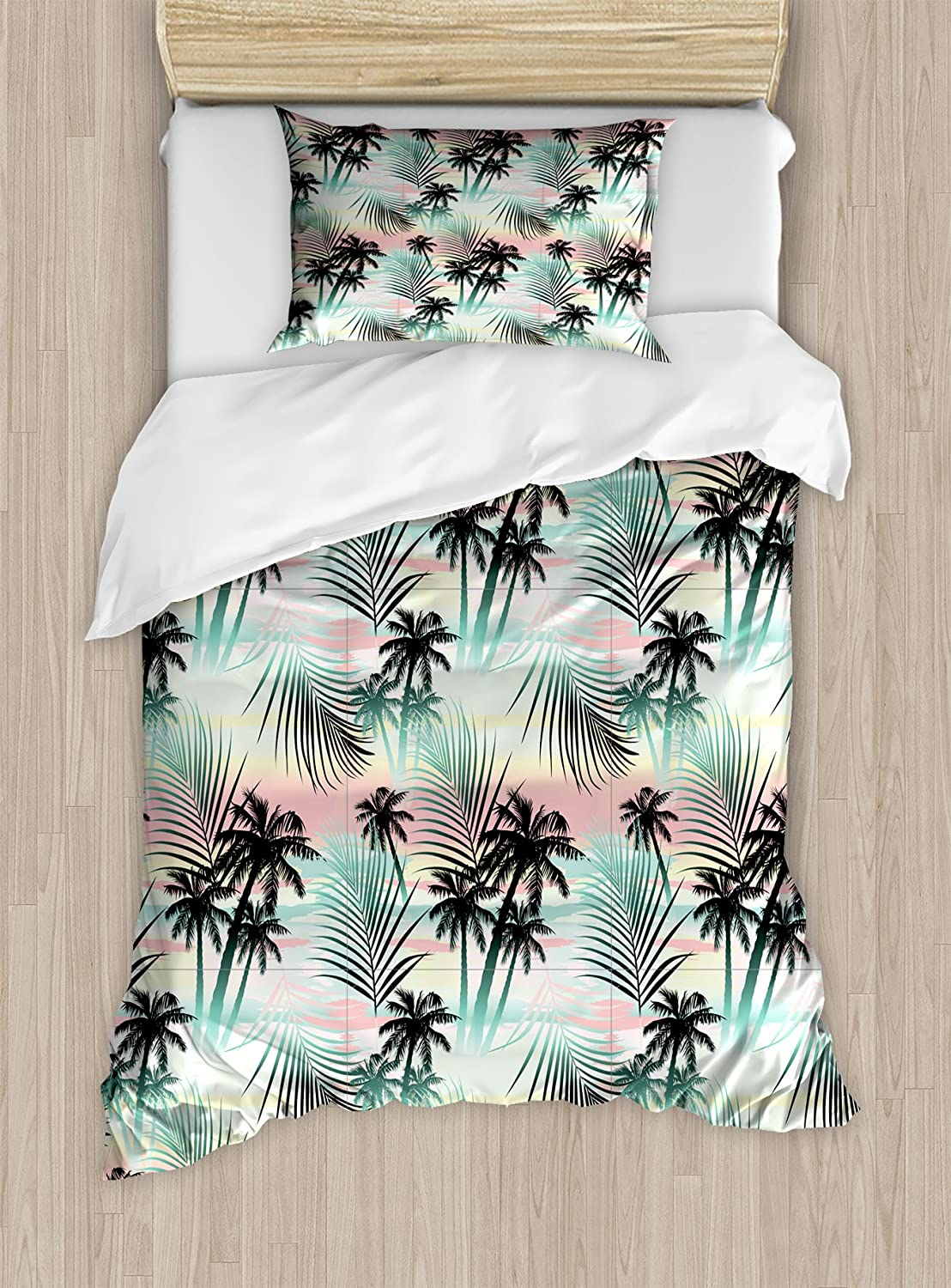 Ambesonne Dragonfly Duvet Cover Set King Size A Decorative 3 Piece Bedding Set With 2 Pillow