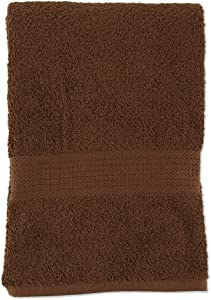 J&M Home Fashions Provence Extra Large Bath Sheet, Russet