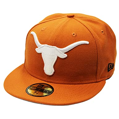 best sneakers d55f5 8a6a9 ... free shipping new era 59fifty texas longhorns texas orange fitted cap 7  1 4 84d6b 9896a ...