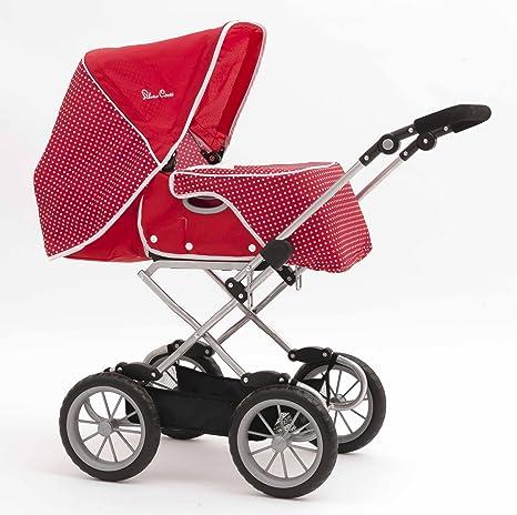 Silver Cross Carrito para bebé de juguete, color rojo