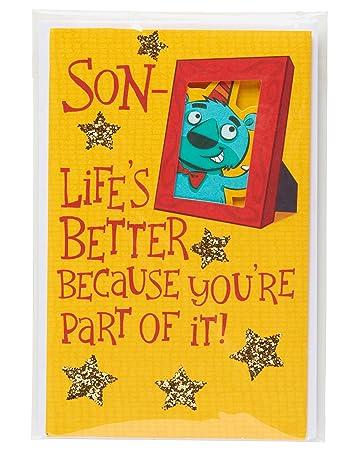 Amazon.com: American Greetings de la vida mejor tarjeta de ...
