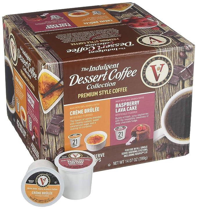 Victor Allens Café K tazas Creme Brulee & Frambuesa Lava ...