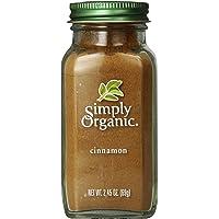 Simply Organic Ground Cinnamon Large Glass, 69g