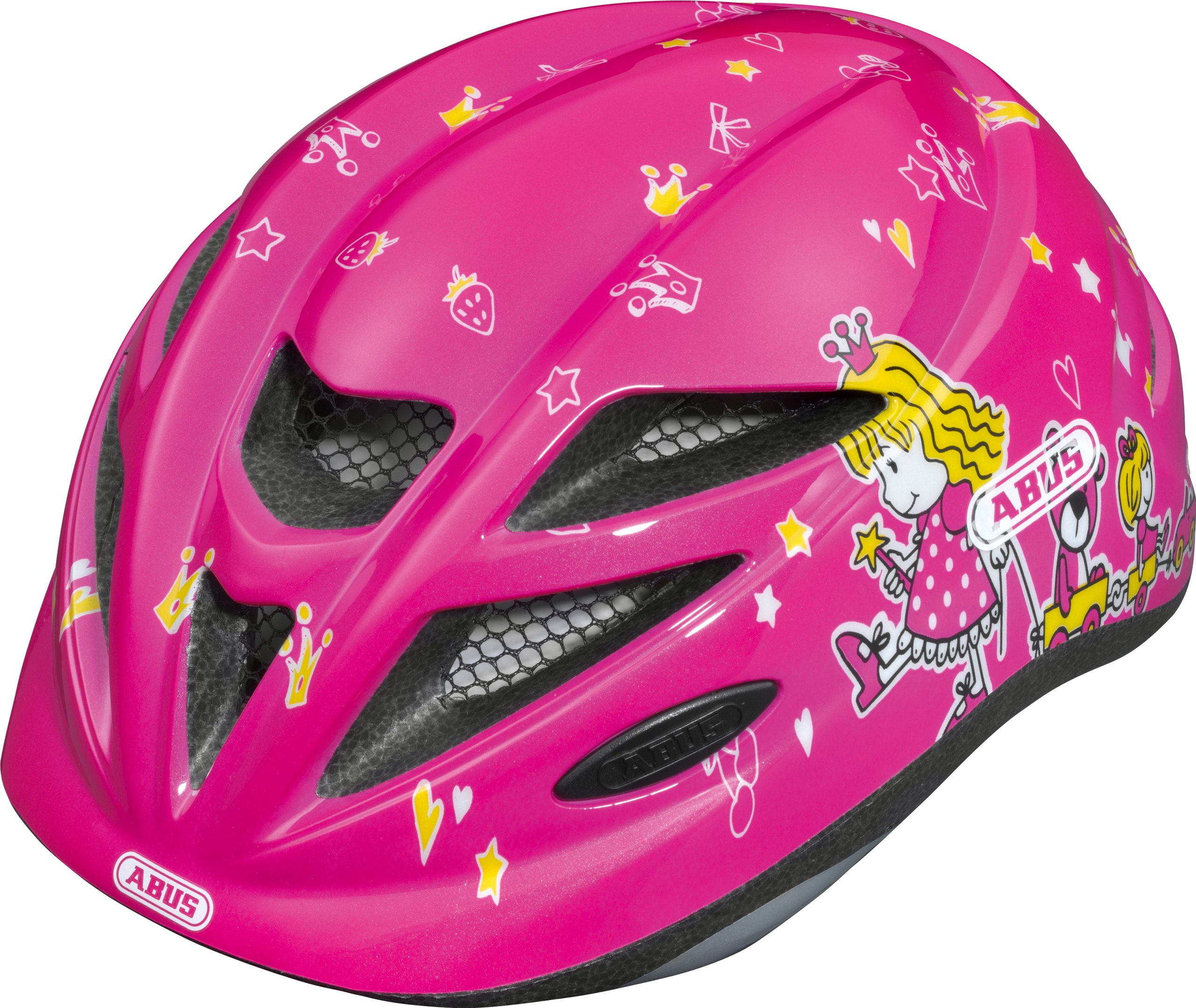 Abus Hubble Girls' Cycle Helmet princess Size:M