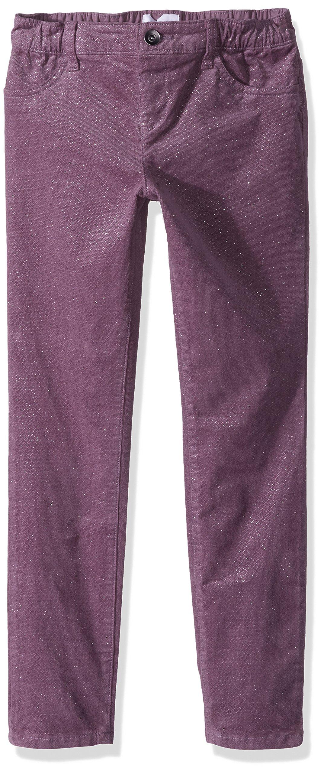 The Children's Place Big Girls' Fashion Pants, Black Tulip 88468, 8