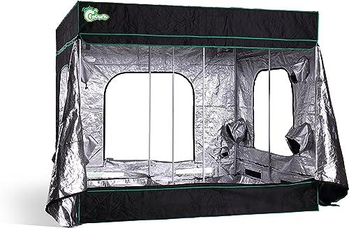 Hydro Crunch ND940009000 Hydroponic Grow Tent, 96 x 96 x 80