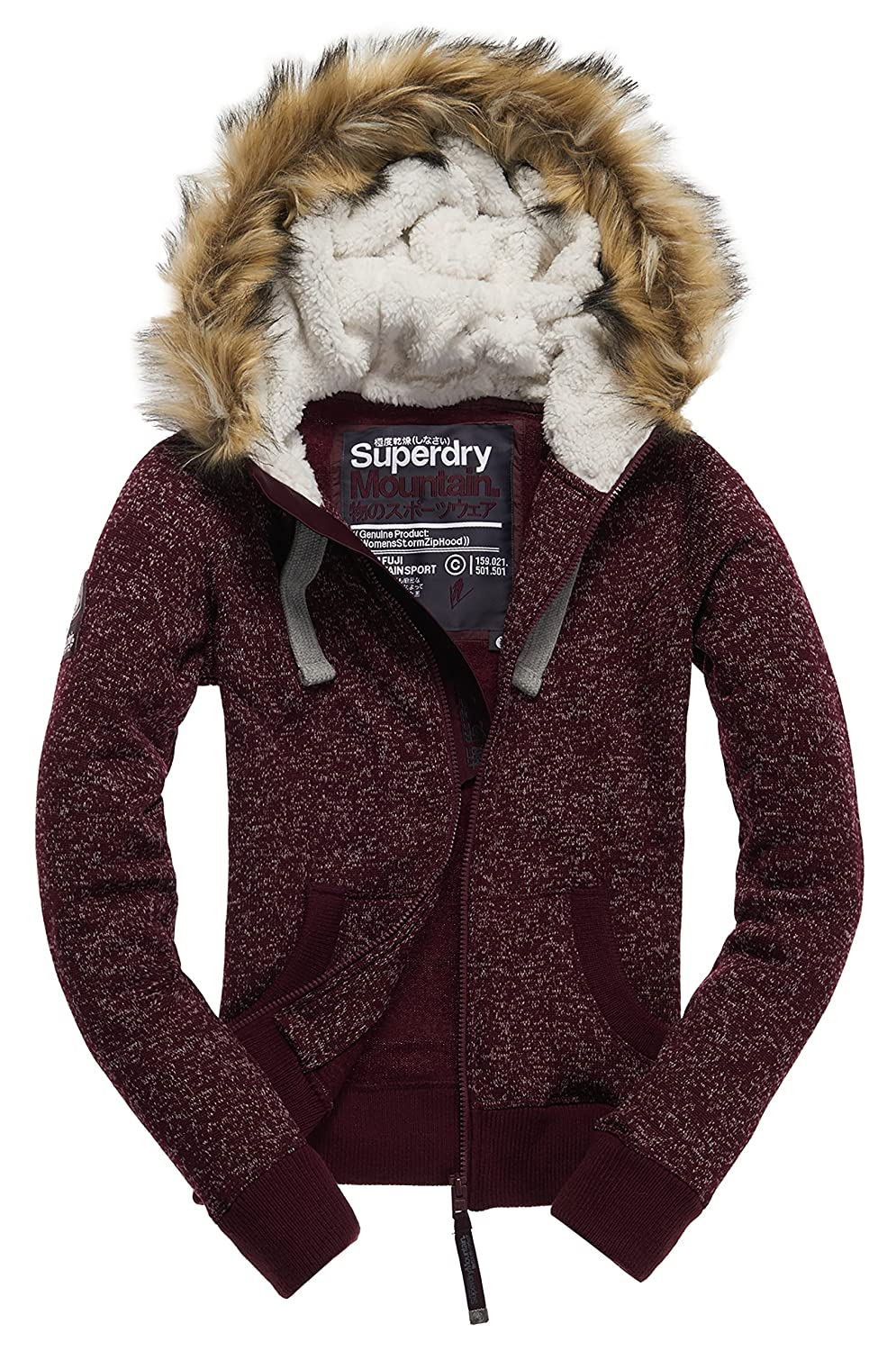 Superdry Damen Regenjacken Storm Ziphood