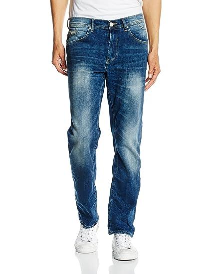 Blend Men's Rock Straight Leg Jeans - Blue - 33W/32L